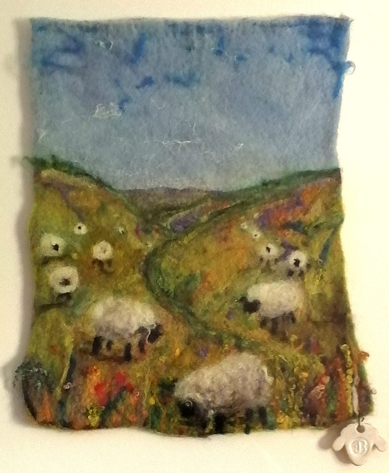 Felting in Devon Blog